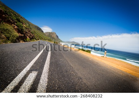 On the Road - South Africa - stock photo