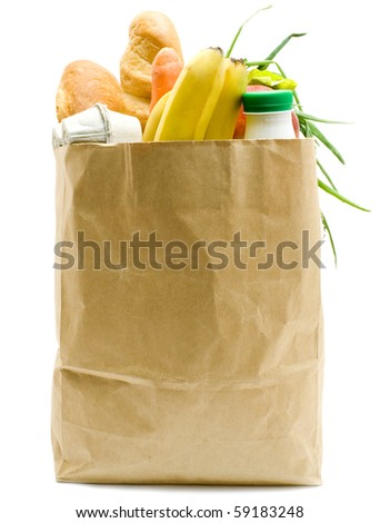 Grocery Store Sack Stock Images, Royalty-Free Images & Vectors ...