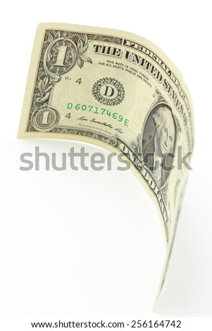 one dollar bill - stock photo