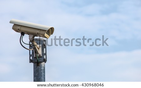 one of numerous surveillance cameras