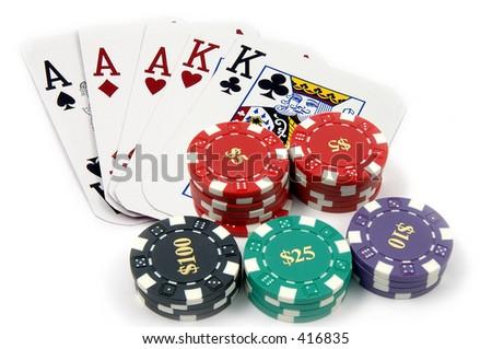 aces full of kings poker chips