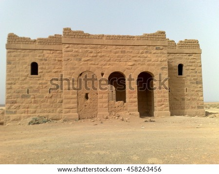 one of the smaller stations on the Hijaz Railway