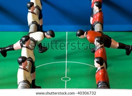 One Team will win - stock photo