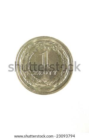 One zloty - stock photo
