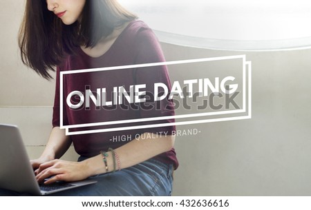 Online Dating Online Matching Relation Online Concept - stock photo