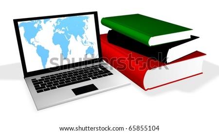 Online Education - stock photo