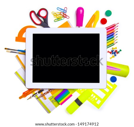 Online education concept - stock photo