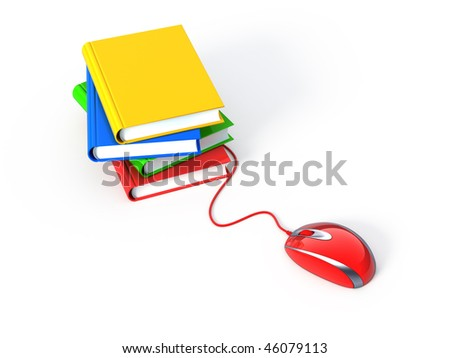 Online learning - stock photo