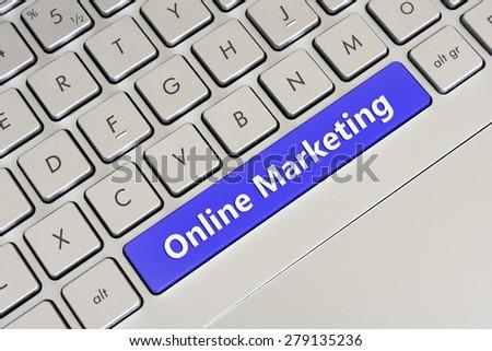 Online Marketing - stock photo