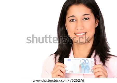 Only 20 Euros - stock photo