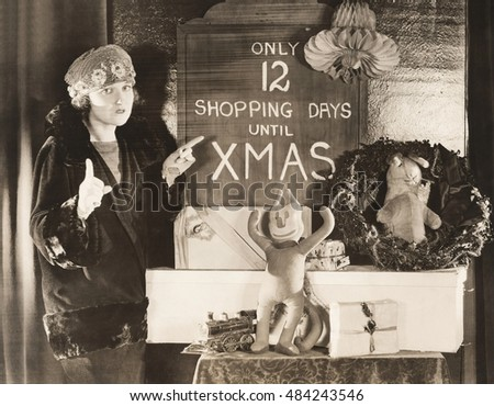 Only 12 shopping days until Xmas