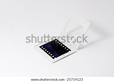 Open a Film - stock photo