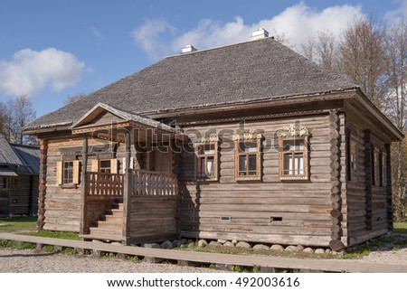open air museum of wooden houses