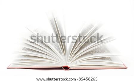 open book - stock photo
