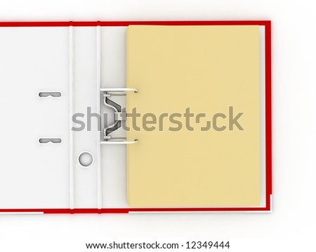 Open folder for documents