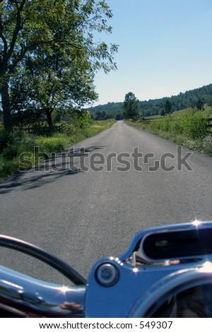Open Road - stock photo