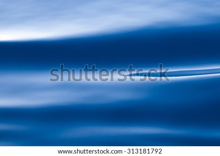 Open water surface of the sea-Water waves for nature backgrounds - stock photo