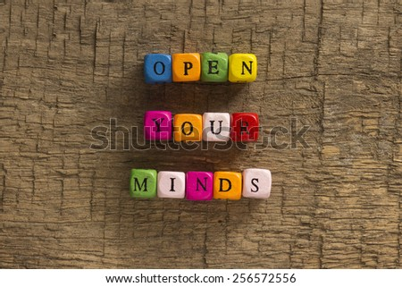 Open Your Mind Concept - stock photo