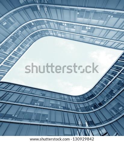 Opening Sky - stock photo