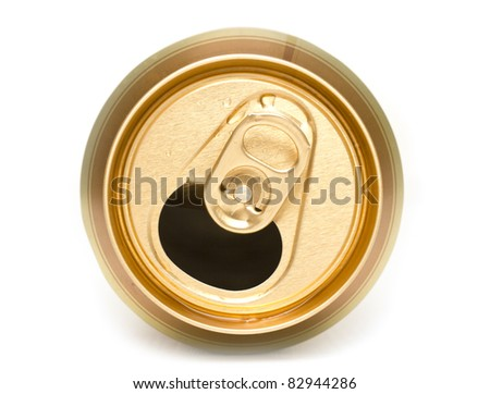 Openning banks from under beer - stock photo