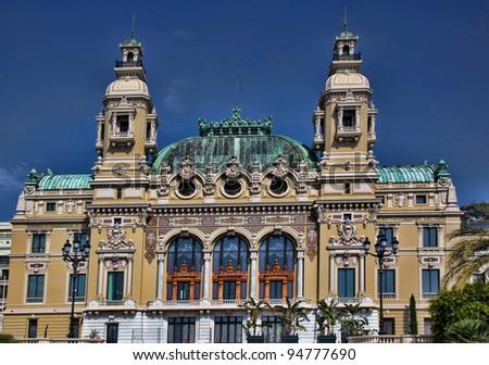 Opera de Monte Carlo - stock photo