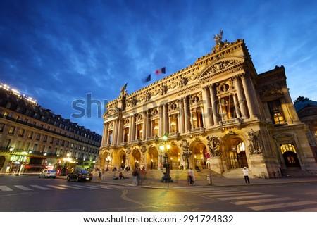 Opera Garnier, Paris, France - stock photo