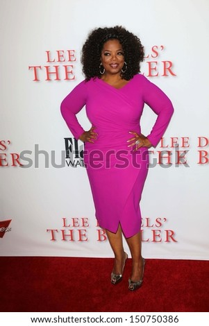 "Oprah Winfrey at ""Lee Daniels' The Butler"" Los Angeles Premiere, Regal Cinemas, Los Angeles, CA 08-12-13"