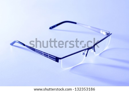 Optical glasses - stock photo