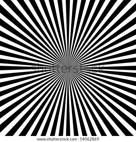Optical illusion. - stock photo