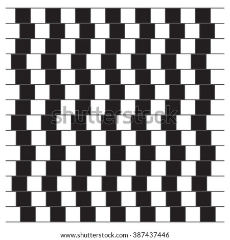 Optical Illusion. Opt Art Illustration for your design. Use for cards, invitation, wallpapers, pattern fills, web pages elements and etc. - stock photo