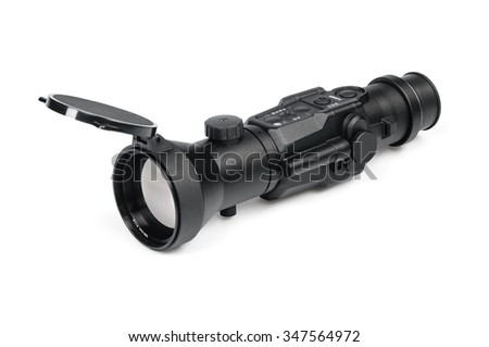 optical sight - stock photo