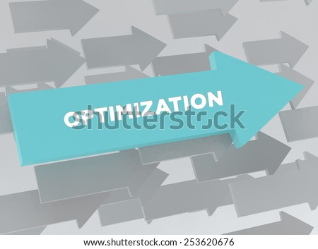 OPTIMIZATION - stock photo