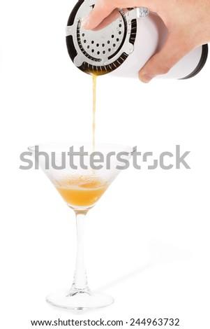 Orande cocktail - stock photo