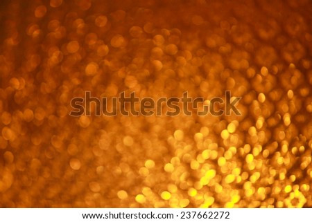 orange abstract - stock photo