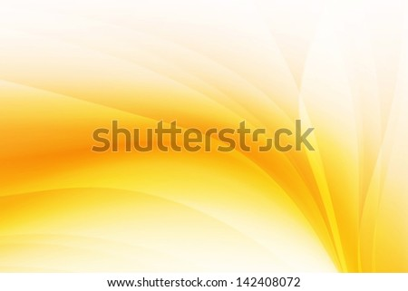 Orange Abstract Background - stock photo
