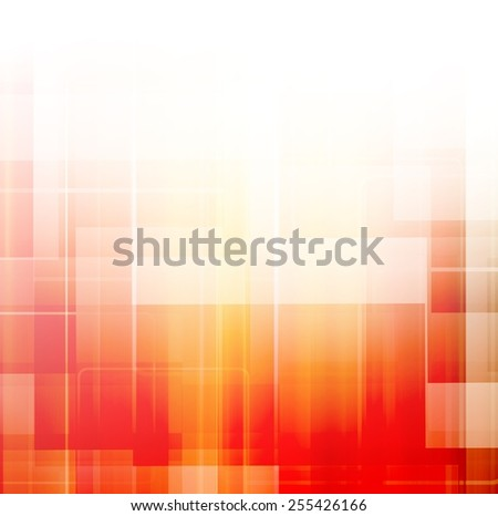 Orange Abstract Dynamic Art Futuristic Background Design - stock photo