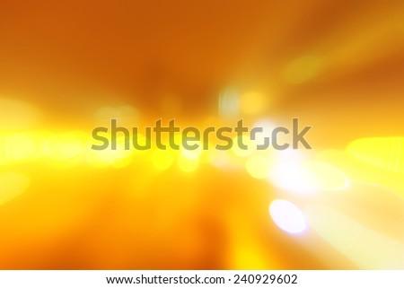 Orange abstraction celebratory Christmas background - stock photo