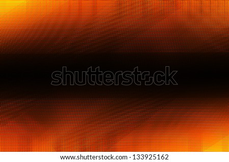 orange and black lines background - stock photo