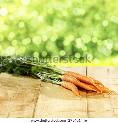 orange and green carrots