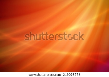 orange and red abstract background - stock photo