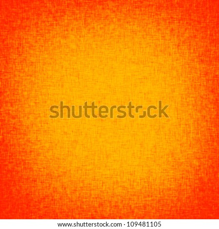 orange background with burlap texture and red vignette