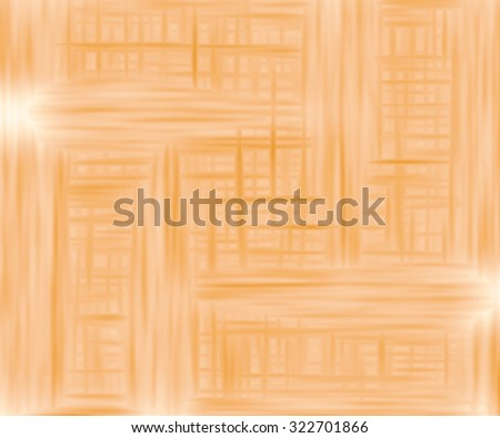 Orange bright background with reflection