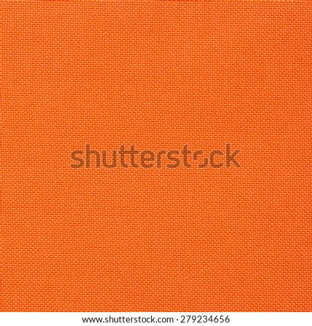orange canvas texture for background - stock photo