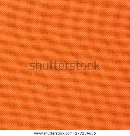 orange canvas texture for background - stock photo
