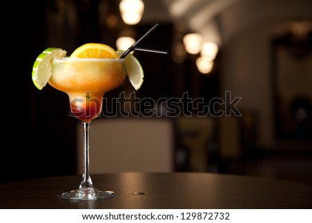 Orange Cocktail - stock photo
