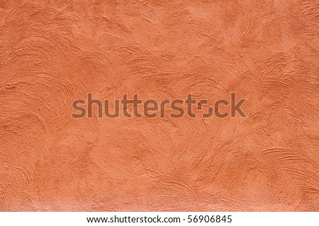 orange color wall - stock photo