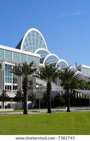 Orange County Convention Center in Orlando - stock photo