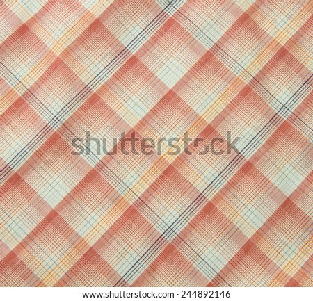 orange fabric texture for background - stock photo
