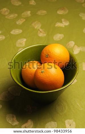 Orange fruit - stock photo