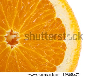 Orange fruit + Clipping Path